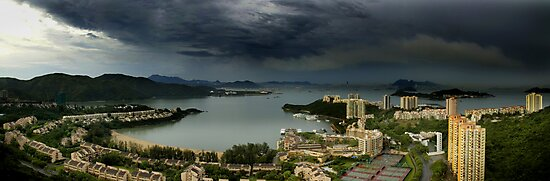 D BAY, HONG KONG  by Eamon Fitzpatrick