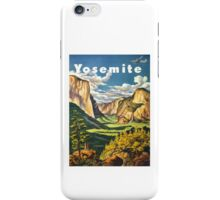 Yosemite Travel iPhone Case/Skin