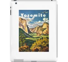 Yosemite Travel iPad Case/Skin
