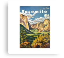 Yosemite Travel Metal Print
