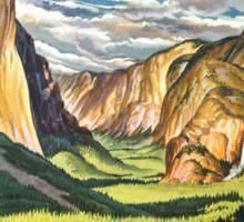 Yosemite Travel Sticker
