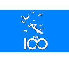 The 100 - White Photographic Print