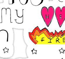 Lyrics from Love Me Like You Do  Sticker
