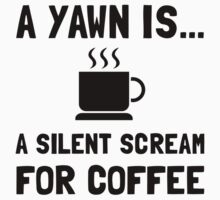 Yawn Coffee Kids Clothes