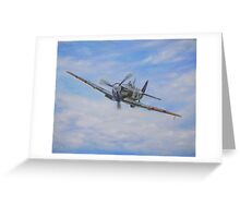 Spitfire Mk V Greeting Card