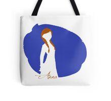 Anna Frozen silhouette art Tote Bag