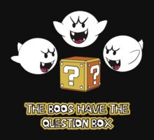 The Boos have the question box T-Shirt
