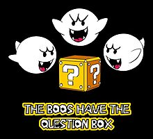 The Boos have the question box by Nana Leonti