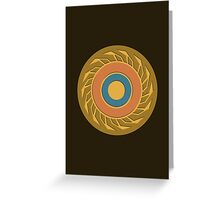 The Eye of Jupiter Greeting Card