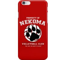 Team Nekoma iPhone Case/Skin