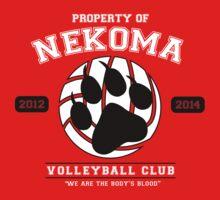 Team Nekoma by kacielacie