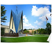 Chapel at Norman Park Poster
