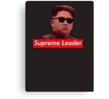 Kim Jong-un new haircut North Korea supreme leader Canvas Print
