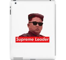Kim Jong-un new haircut North Korea supreme leader iPad Case/Skin