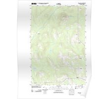 Maine USGS Historical Map Mud Lake 20110909 TM Poster