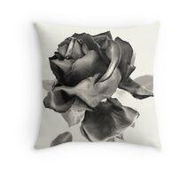 Dry Rose Throw Pillow