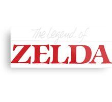 Legend of Zelda - Logo Metal Print