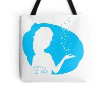 Elsa Frozen silhouette Tote Bag