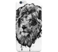 First Lion - White Eyes iPhone Case/Skin