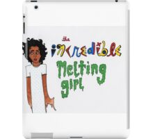The Incredible Melting Girl iPad Case/Skin