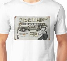 Fender Guided Tour - Life on the Road Vintage Sign Unisex T-Shirt