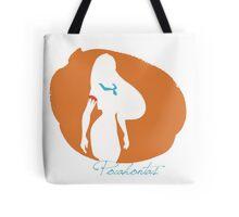 Pocahontas silhouette Tote Bag