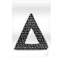 Bastille Triangle - Pompeii lyrics Poster