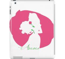 Aurora Sleping Beauty silhouette iPad Case/Skin