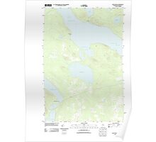 Maine USGS Historical Map Mud Pond 20110910 TM Poster