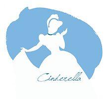 Cinderella silhouette by MariondeLauzun