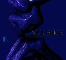 STOP VIOLENCE IN THE FAMILY by Karo / Caroline Evans (Caux-Evans)