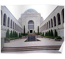 Australian War Memorial, Canberra, Australia Poster