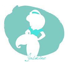 Jasmine aladdin silhouette by MariondeLauzun