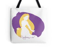 Rapunzel tangled silhouette Tote Bag
