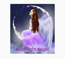 Moonlight Angel Womens Fitted T-Shirt