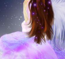 Moonlight Angel Sticker