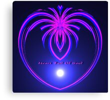 Heart Full Of Soul Canvas Print