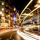 Bright lights of London by Phil  Hatcher