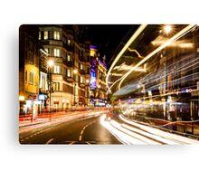 Bright lights of London Canvas Print