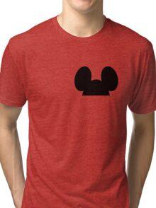 Hiding Mickey  Tri-blend T-Shirt