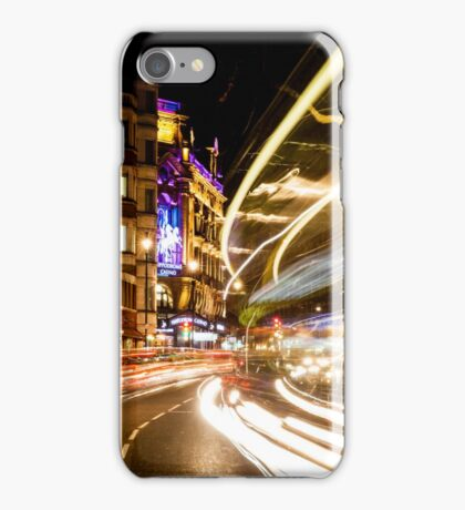 Bright lights of London iPhone Case/Skin