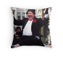 Funny Man Jimmy Cricket Throw Pillow
