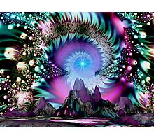 Mountain of the Gods Photographic Print