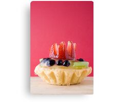 Fruit Pastry Canvas Print