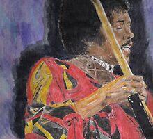 Hendrix by artmgm
