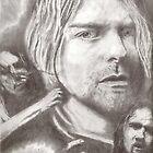 Kurt Cobain by artmgm