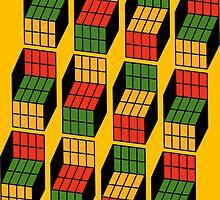 Rubik's Mash. by kerchow