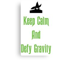 Defying Gravity - Wicked Canvas Print