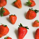 strawberries by Alessio  Cola