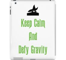 Defying Gravity - Wicked iPad Case/Skin